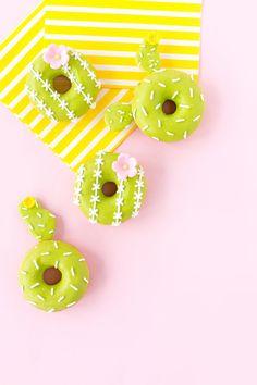 DIY Cactus Donuts