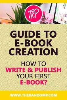How to write & publish your first e-book? therandomp.com/blog/e-book-writing-experience-tips