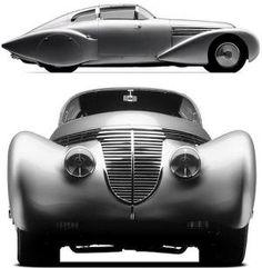 1938 Hispano Suiza Dubonnet Xenia 1 by rosella