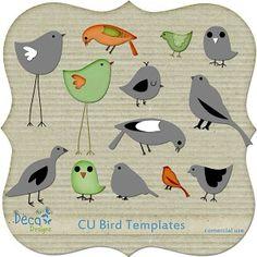 CU Bird Templates