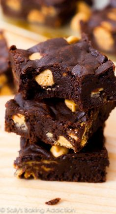 These are, by far, the fudgiest homemade brownies in the world!