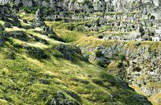 Matera, Italy, view on Sassi, photo via Sextantio web site.