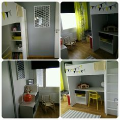 Little school girl room