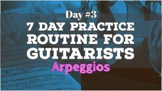 Part 3 of the 7 Day Guitar Practice Routine. This lesson routine focuses on Diatonic Arpeggios in the key of C Major. Guitar Chords And Scales, Acoustic Guitar Chords, Guitar Chords Beginner, Ukulele, Music Theory Guitar, Guitar Sheet Music, Guitar Tips, Guitar Lessons, Pentatonic Scale Guitar