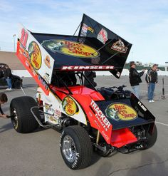 sprint cars | Steve Kinser, WoO Sprint Car - Las Vegas, NV