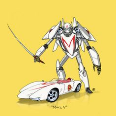 Awesome art series reveals 9 iconic geek vehicles as towering Transformers | Blastr