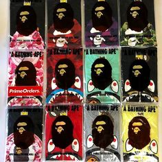 54b6c6e65fe Which Bape Tee is your favorite ! Bape Shark or Bath Ape Head Dropping parts