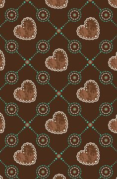 .brown hearts