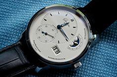 Glashutte Original PanoMaticLunar 📷 to Forum Membe Glashutte Original, The Originals, Accessories, Dress Watches, Clocks, Times, Luxury, Instagram, Fashion