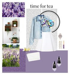 """Time For Tea"" by mon-ami-louis ❤ liked on Polyvore featuring moda, H&M, River Island, 3.1 Phillip Lim, Yves Saint Laurent, Skinnydip, T Tahari, Olivia Burton e Dolce&Gabbana"
