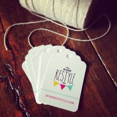 Branding Your Etsy Shop - DIY Business Cards, Price Tags, and Packaging |  Hang tags, Business and Creative