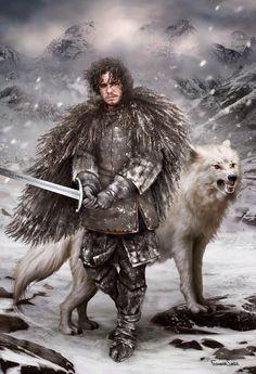 Jon Snow ve Ghost