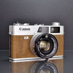 Canonet QL19 Mansonia by Canon