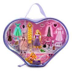 Rapunzel Figurine Fashion Play Set