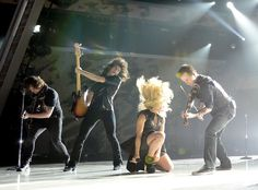 Kimberly Perry gets down!