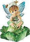 Little Kitchen FAIRY Cabbage fairy - http://www.kitchenfairies.net/kitchen-fairies-for-sale-on-ebay/little-kitchen-fairy-cabbage-fairy/