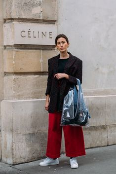 See Every Unforgettable Street Style Outfit From Paris Fashion Week Right Here, Right Now Street Style 2018, Street Style Trends, Casual Street Style, Street Chic, Street Style Women, Street Beat, Paris Outfits, Fashion Outfits, Fashion Trends