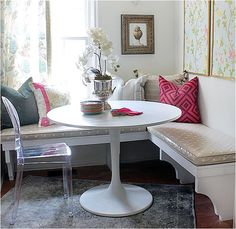 For Kitchen -corner banquette  - only seat or drawers with storage