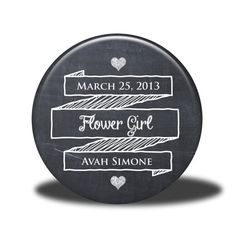 PERSONALIZED Flower Girl Gift  Mirror Magnet by SweetSix1Five, $4.75