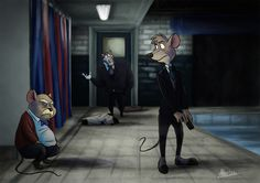 There may come a day where I don't pin great mouse detective/Sherlock art, but it is not this day.