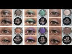 L'Oreal 24 Hour Lipstick | FULL SET of 20 Swatches: Revlon ColorBurst Lip Butters - YouTube