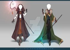 (OPEN) Adoptable Outfit Auction 181 - 182 by Risoluce.deviantart.com on @DeviantArt