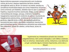Espaço d'Luz e Paz: Síndrome metabólica, aumento de peso, diabetes... ...