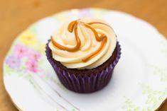 Salted Caramel Cupcake Recipe - Sunday Baking