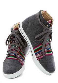 Rainbow Knows Sneaker, #ModCloth
