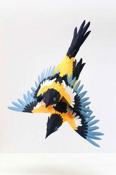 Bird Paper Sculptures – An Animal Paper Art