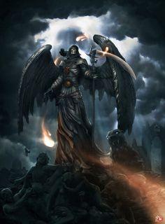 Anjo da morte - Pintura Mais