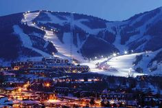 Park City Ski Resort Utah USA