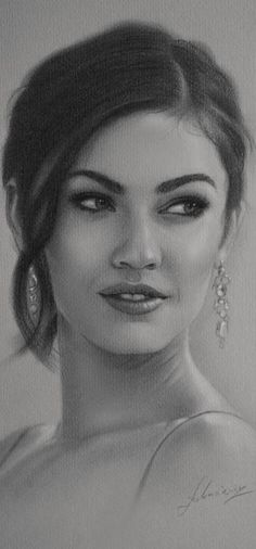 Pencil sketch of Megan Fox. Realistic Sketch, Realistic Pencil Drawings, Portrait Sketches, Pencil Portrait, Drawing Quotes, Hand Sketch, Pencil Art, Face Art, Celebrity