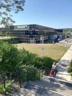 St Etienne, Loire, Saints, Sidewalk, Spaces, Environment, Side Walkway, Walkway, Walkways