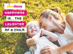 Happiness Is.. The Laughter Of a Child. Use FREE10 Coupon For Express Delivery  #Alexdaisy