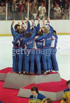 Miracle on Ice - 1980 Team USA  I remember watching them win it on TV back in 1980.