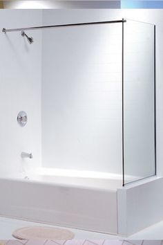 Rid Your Shower Of Toxic Chemicals Found In Shower Curtain And Add Style To  Your Bath With A Frameless Glass Spray Panel From Oasis.