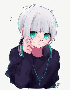 Anime Oc, Anime Neko, Kawaii Anime, Cute Anime Character, Character Art, Cute Anime Cat, Anime Guys With Glasses, Anime Friendship, Estilo Anime