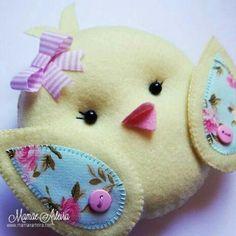 Easter Crafts, Felt Crafts, Felt Bookmark, Sewing Stuffed Animals, Nature Crafts, Felt Toys, Felt Animals, Diy Toys, Blue Moon