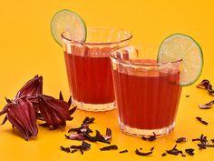 Receita de Pink Lemonade de Hibisco Food Network