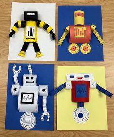 2nd Grade Robots