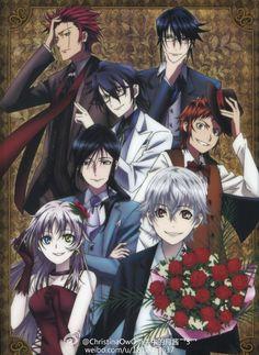 Mikoto, Reishi, Saruhiko, Misaki, Kuroh, Neko and Shiro - Missing Kings
