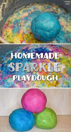 Make homemade sparkl