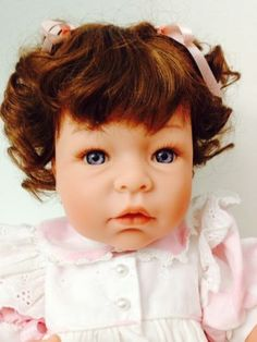 """Lee Middleton 21""""  doll by Reva Schick, Peaches sculpt  and Little baby"""