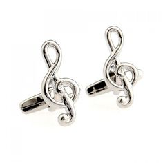 6.83$  Watch now - http://dilhp.justgood.pw/go.php?t=116937801 - Pair of Chic Solid Color Musical Note Shape Alloy Cufflinks For Men