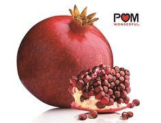 A fresh POM Wonderful pomegranate