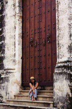 Almost every door in Cuba is massive.