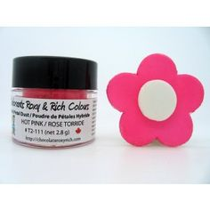 Shop online for Chocolats Roxy & Rich Petal Dust - Hot Pink at Golda's Kitchen; the leading Canadian on-line shopping site for quality bakeware, cookware, and cake decorating supplies. Petal Dust, Hot Pink Roses, Cake Decorating Supplies, Shopping Sites, Roxy, Drink Sleeves, Watermelon, Powder, Colours