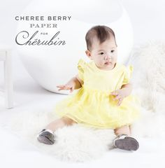 Sunshine yellow makes your cherub shine bright no matter what the occasion! Pair it with black & white baby moccs for a refined yet sassy look.