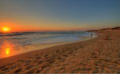 Gunnamatta Beach at Sunset